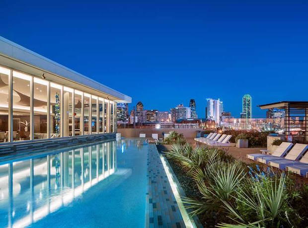 Top 10 Dallas Apartment Pools