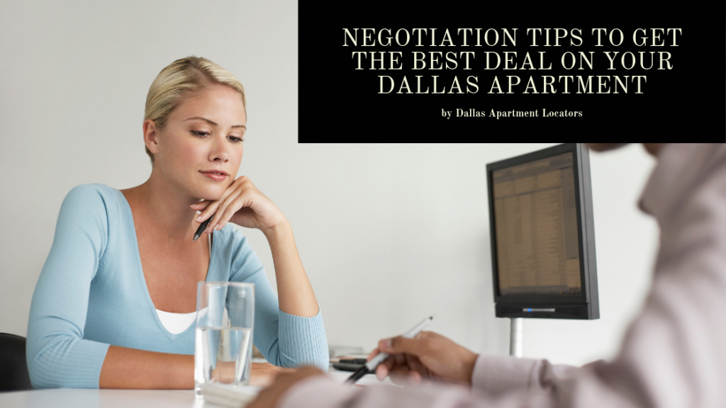 Negotiation Tips to Get the Best Deal on Your Dallas Apartment
